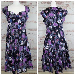 50's Rockabilly Dress Hell Bunny Graciela M NWT
